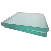 High quality Competitive price clear 6.38mm LAMINATED SAFETY GLASS sheets with float glass and PVB film