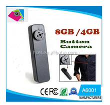 720P mini hidden Magic Ring H.264 Button Camera