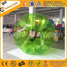 Sports human inflatable bumper soccer bubble ball TB307