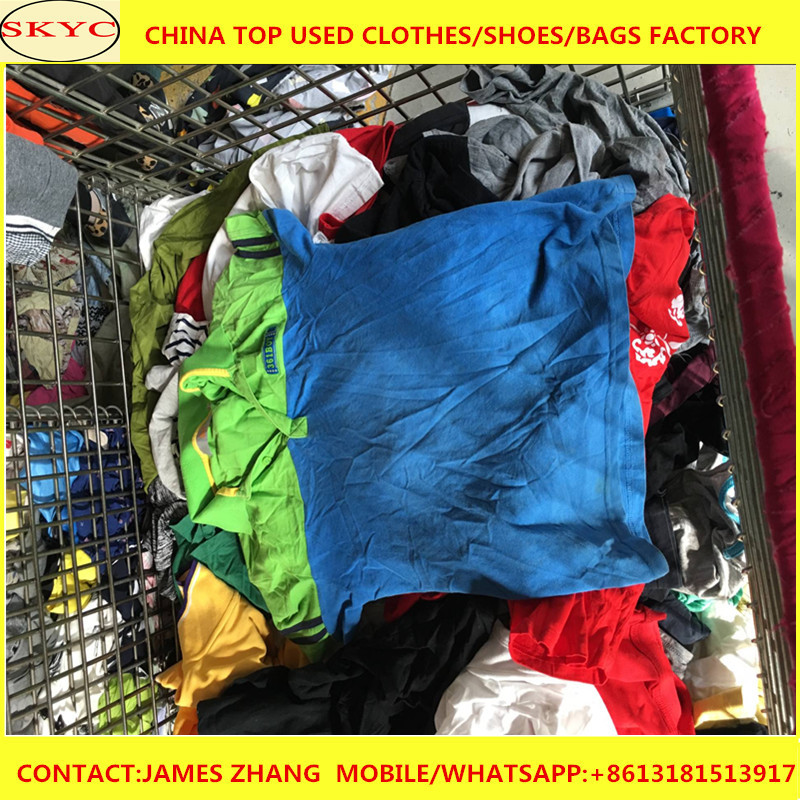 Used clothing/used clothes in bales chilren spring wear