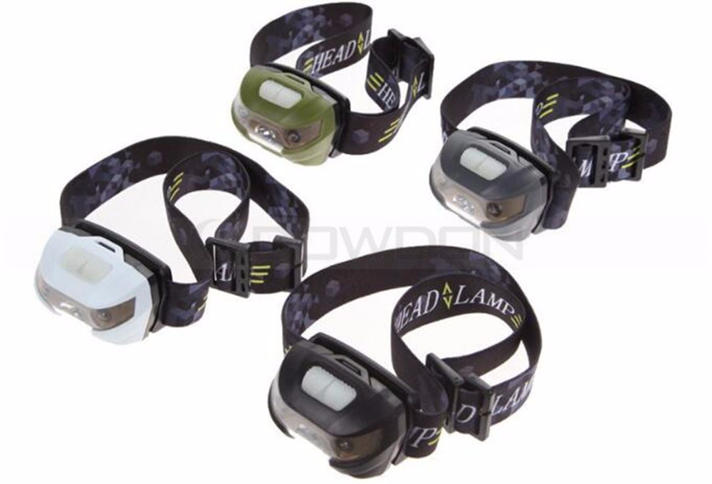 Waterproof Q5 + 2 Red LED USB Rechargeable Mini Headlamp Super Bright Running Headlamp Camping Headligt Flashlight