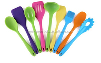 Silicone Material and LFGB,FDA,SGS Certification Colored kitchen utensils
