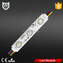 DC12V high brightness 5050 led smd injection module waterproof pixel rgb led module for light box
