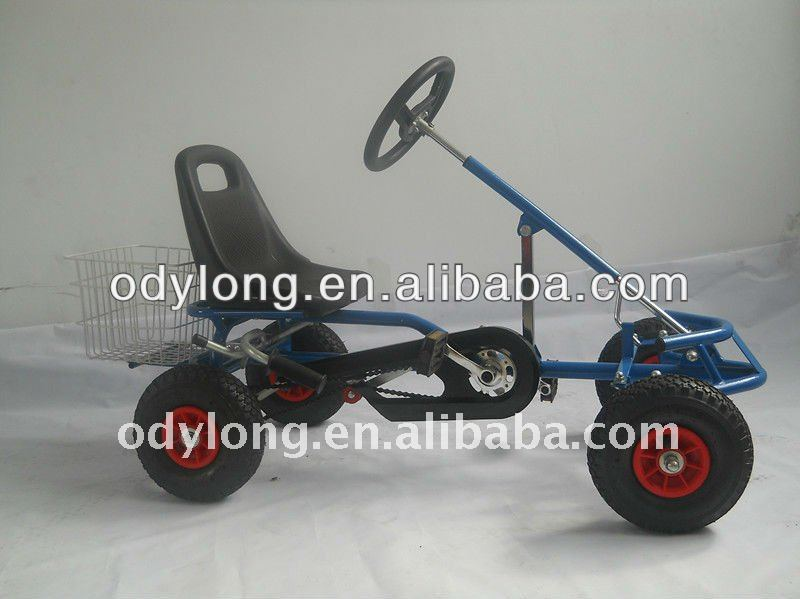 Hot sell pedal go kart trailer F110AC with CE certfficate