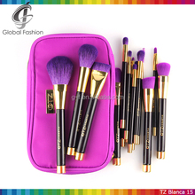 Professional 15pcs TZ cosmetic make up brush set Brushes for artists