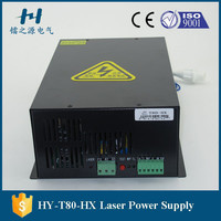 80w laser power supply manufacturer for king rabbit cutting