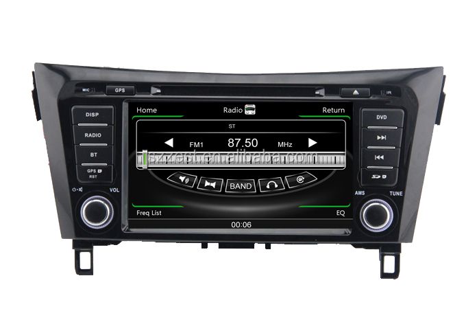 ZESTECH car dvd player for Nissan X-trail Car stereo radio/dvd/gps/mp3/