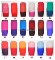 temperature changing color gel nail polish, Best gel polish for winter