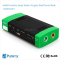 400A Peak Current Portable Car Jump Starter Power Bank 13600mAh With Emergency Flashlight For Truck/ Van/ SUV/ Laptop And More