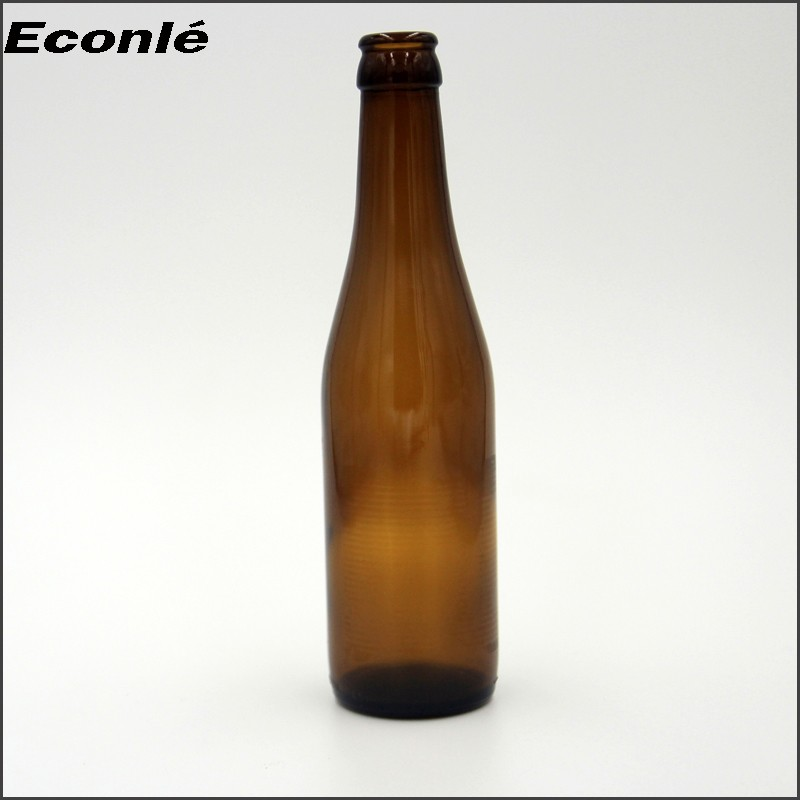 Amber color 355ml beer bottle price