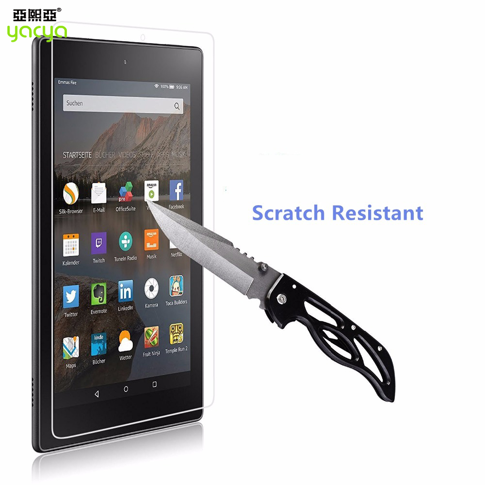 Tablets pc 10 HD tempered glass screen protector for Amazon Kindle Fire 2015 HD 10 inch tablet glass screen