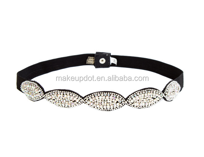 2018 direct <strong>manufacturers</strong> sell like hot cakes The new diamond bride handmade beaded ribbon belt