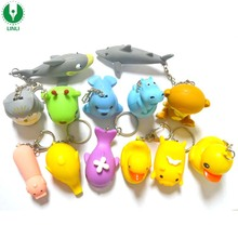 Theme Park Promotional Cheap Cat Sound Led ABS Key Chain, Sound LED Key Ring, Sound LED Hey Holder