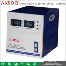 5000va Single Phase Home Use High Precision Aotomatic AC Voltage Stabilizer Long-term Operation Reliable Performance
