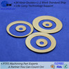 Unique design flat filled ptfe ring joint gasket