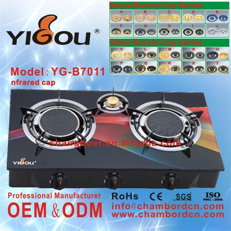 YG-B7007 names of all appliances hydrogen stove