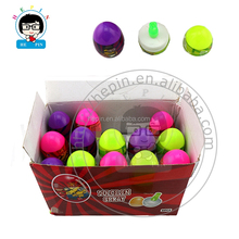 Egg Shape Spray Candy Funny Shape Sour Spray Candy Wholesale Liquid Candy