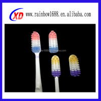 2014 wholesale baby silicone toothbrush for dental care