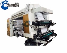 Changhong High Speed 4 Color Semi-Automatic Stack Type Flexo Printer