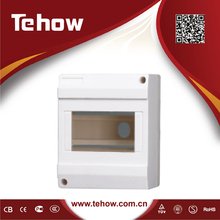 TH4D Surface mounted plastic distribution box for MCB installation
