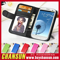 Brand new mobile phone wallet leather flip cover case for cherry mibile one g1