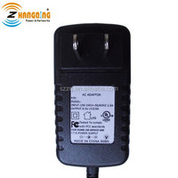 US UK EU plug switch AC DC adapter 5V 3A power adapter, the uninterrupted 5V 15W power supply