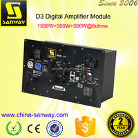 D3 Audio Power Mosfet Amplifier Module with DSP
