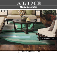 ALIME Terrace modern dining room carpet collection wool 3d woven rugs