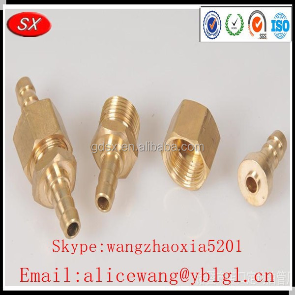 OEM and ODM plumbing brass fitting,brass y fitting,brass fitting plumbing in China,ISO9001passed