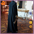 2017 wholesale New Design Muslim Open Abaya Kimono Style Abaya With Embroidery