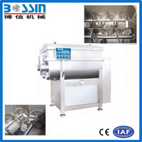 2016 high efficiency new style vacuum mixer for sausage meat