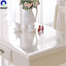 Table Protective Film Clear PVC Roll Plastic Film For Table Cover