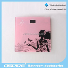 portable digital bathroom silkscreen printing scale