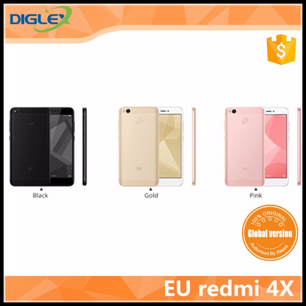 2017 New Arrival eu global version redmi 4x hot sale good quality 32gb /64gb international version english package
