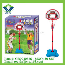 new outdoor toys plastic basketball playing set