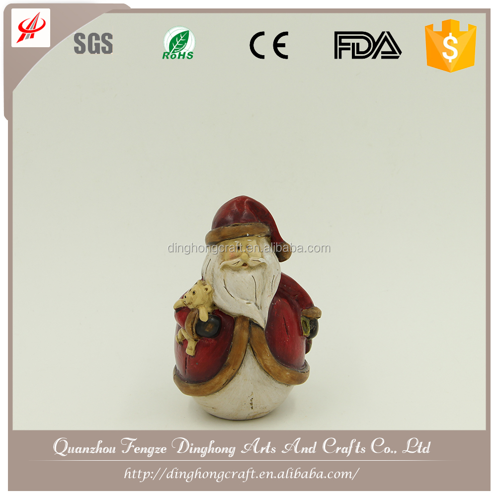 Chinese Christmas Ornament Snowing Christmas Santa Claus