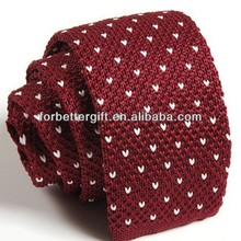 Polyester Knitted Neckties,Hand Knitted Ties,Knit Tie Pattern