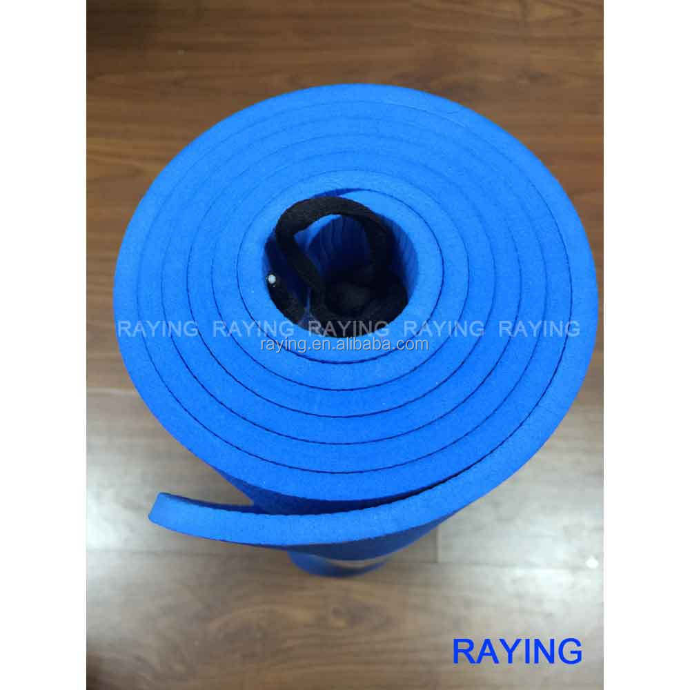 Wholesale Raying 2016 new <strong>Eco</strong> - friendly Manufacturer TPE Yoga Mat 183*61*0.6cm