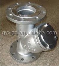 Stainless Steel Y Strainer with Flange End Manufacturer