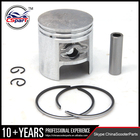 Desempenho 43 MM Piston Ring Kit TB60 para D1E41QMB Qingqi Geely 60CC Scooter Parts