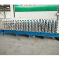 horizontal type hollow core precast concrete partition wall panel making machine