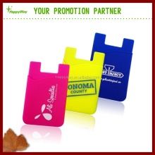 Promotional Multifunctional Silicone Mobile Phone Card Holder