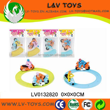 New design plastic wind up toy railway motor