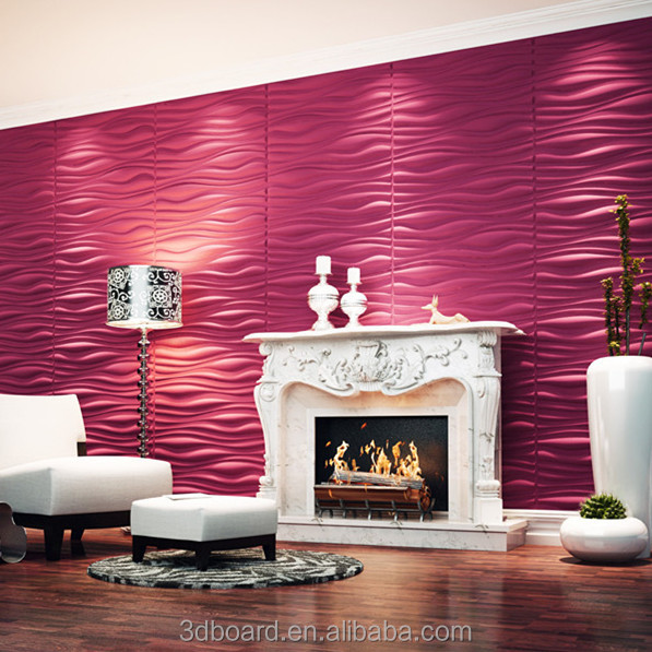 3d bedroom eco-friendly embossed decorative paper for <strong>walls</strong>