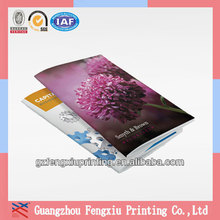 2014 Full Color Custom Printing Cheap A5 Stapled Booklet
