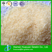 Halal edible pork skin gelatin for for gummy candy with high viscosity