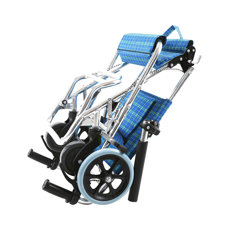 Foldable light weight travel wheelchair for airplane  7.jpg