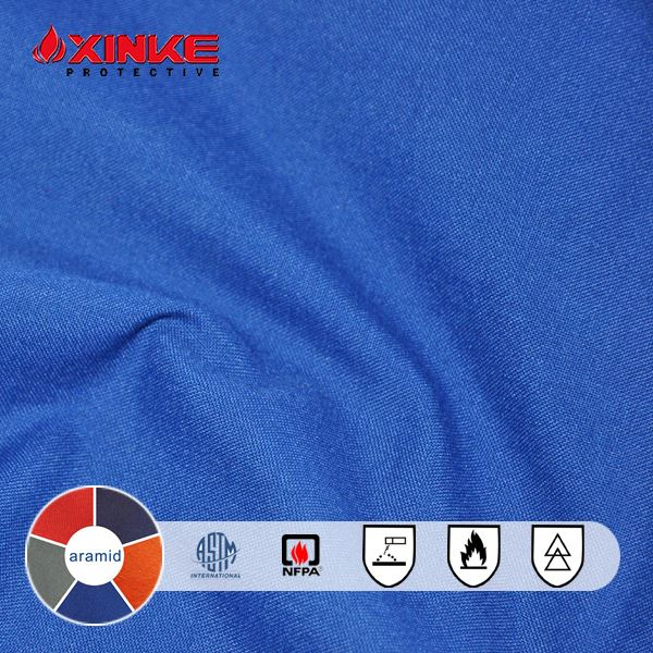 EN11612 NFPA 2112 EN1149 aramid fabric for flame retardant heavy winter jacket