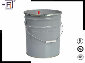Wholesale Customized Round Rust Free1 2 3 4 5 6 Gallon Tinplate Pail For Painting View Tinplate