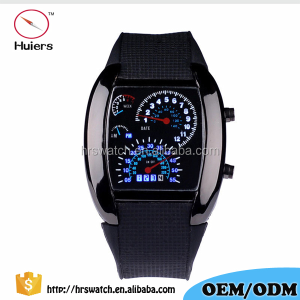 New Design Vogue Aviator Sector Military Watches Digital Sport led Watch